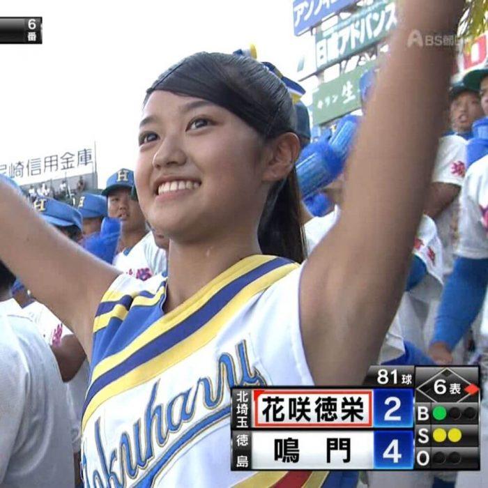 甲子園チア画像「100回記念大会」4日目