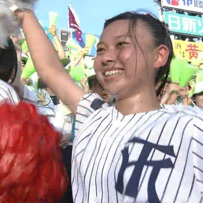 甲子園チア画像「100回記念大会」10日目