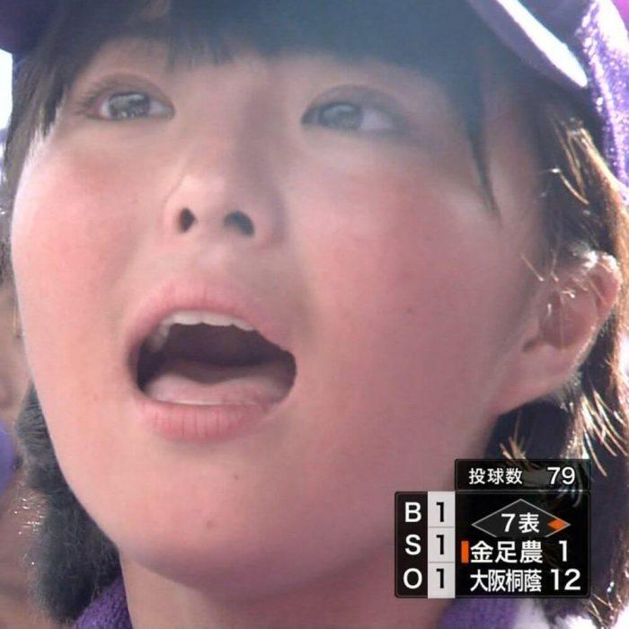 甲子園チア画像 100回記念大会決勝 大阪桐蔭vs金足農業